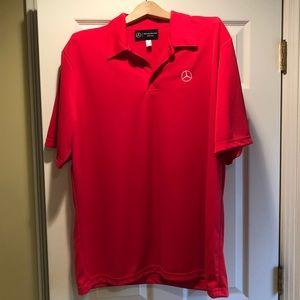 Other - Mercedes Benz men's golf shirt